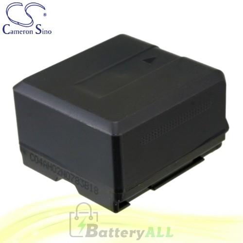 CS Battery for Panasonic HDC-TM20R / HDC-TM20S / HDC-TM200 Battery 1320mah CA-VBG130