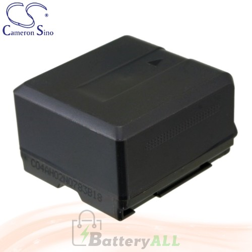 CS Battery for Panasonic Lumix DMC-L10KEB-K / DMC-L10KEG-K Battery 1320mah CA-VBG130