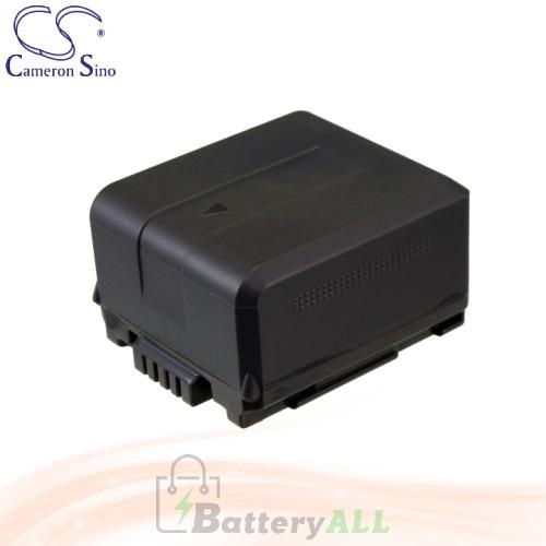 CS Battery for Panasonic Lumix DMC-L10 DMC-L10K / NV-GS500 Battery 1320mah CA-VBG130