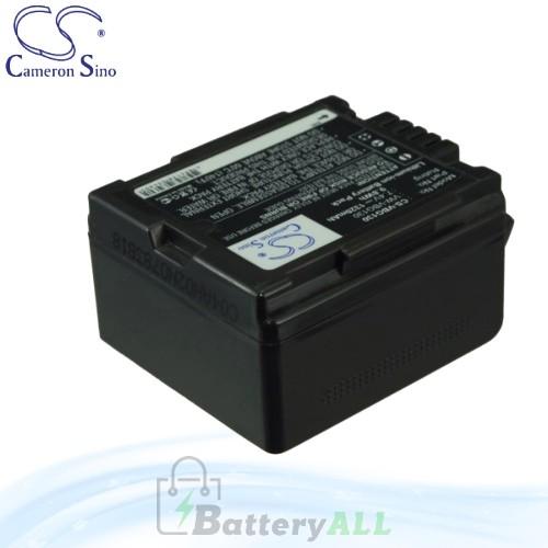 CS Battery for Panasonic PV-GS90 / PV-GS320 / PV-GS500 Battery 1320mah CA-VBG130