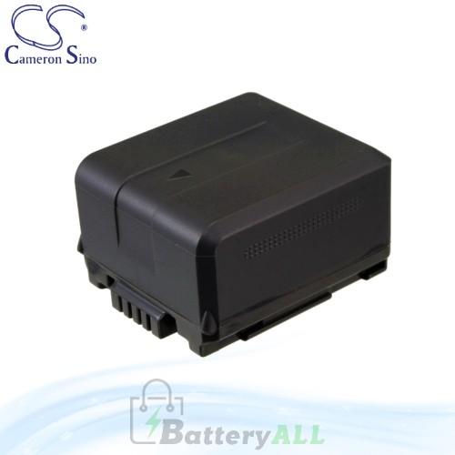 CS Battery for Panasonic SDR-H50 / SDR-H60 / SDR-H200 Battery 1320mah CA-VBG130