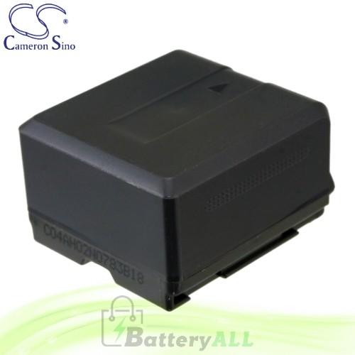 CS Battery for Panasonic VDR-D50 / VDR-D51 Battery 1320mah CA-VBG130
