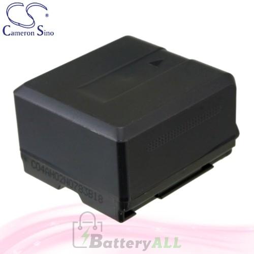 CS Battery for Panasonic HDC-HS100 / HDC-HS200 / HDC-HS250 Battery 1320mah CA-VBG130