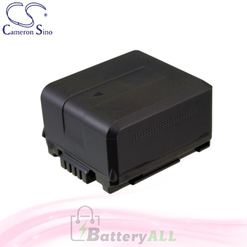 CS Battery for Panasonic HDC-HS250K / HDC-HS20 / HDC-HS20K Battery 1320mah CA-VBG130
