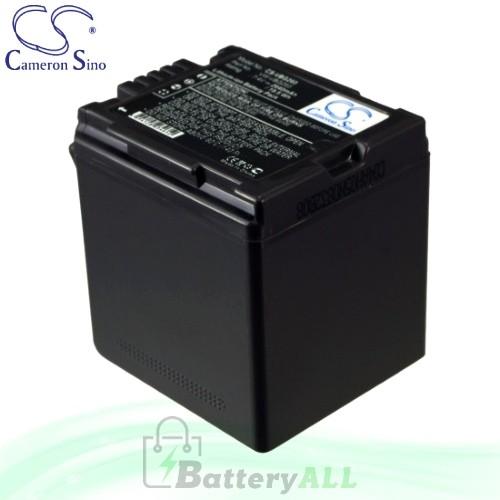 CS Battery for Panasonic SDR-H80R / SDR-H80S / SS100 Battery 2640mah CA-VBG260