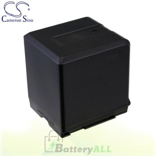CS Battery for Panasonic SDR-S15 / SDR-S25A / SDR-S26 Battery 2640mah CA-VBG260