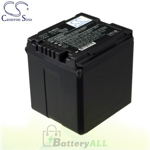 CS Battery for Panasonic SDR-SW21S / SDR-SW28 / SV-ME70 Battery 2640mah CA-VBG260