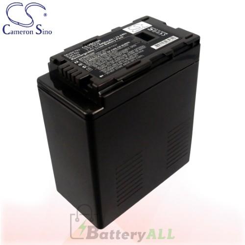 CS Battery for Panasonic HDC-HS20 / HDC-HS100 / HDC-HS100GK Battery 4400mah CA-VBG360