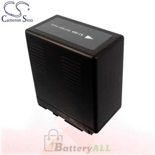 CS Battery for Panasonic HDC-HS250 / HDC-HS300 / HDC-HS350 Battery 4400mah CA-VBG360