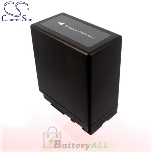 CS Battery for Panasonic HDC-MDH1GK / HDC-SD1 / HDC-SD1-S Battery 4400mah CA-VBG360
