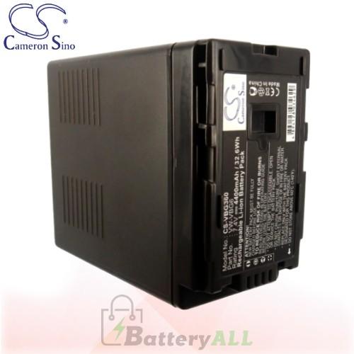 CS Battery for Panasonic HDC-SD3 / HDC-SD5EG-K / HDC-SD5GK Battery 4400mah CA-VBG360