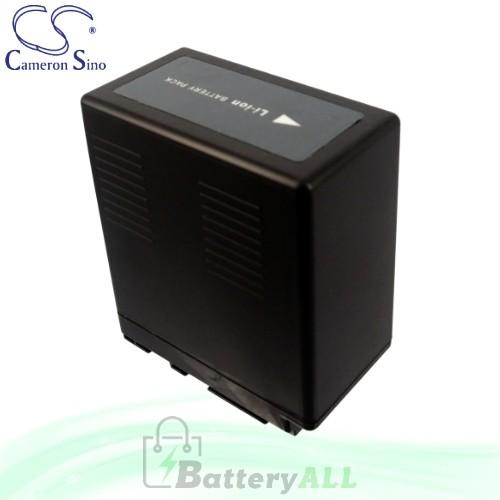 CS Battery for Panasonic HDC-SD9EG-K / HDC-SD9GK / HDC-SD10 Battery 4400mah CA-VBG360