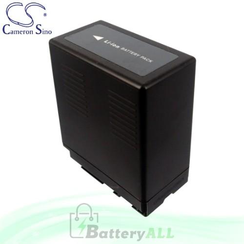 CS Battery for Panasonic HDC-SD9EG-S / HDC-SD20 / HDC-SD600 Battery 4400mah CA-VBG360
