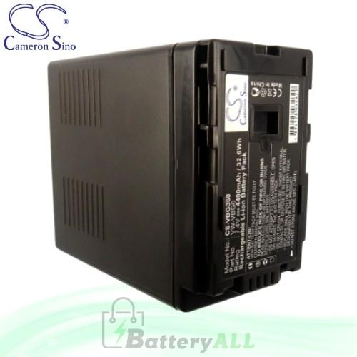 CS Battery for Panasonic HDC-SD100 / HDC-SD100GK / HDC-SD200 Battery 4400mah CA-VBG360