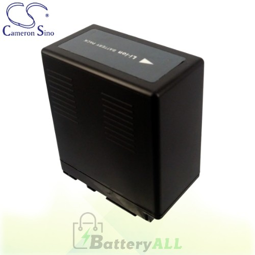 CS Battery for Panasonic HDC-SX5EG-S / HDC-TM10S / NV-GS90 Battery 4400mah CA-VBG360