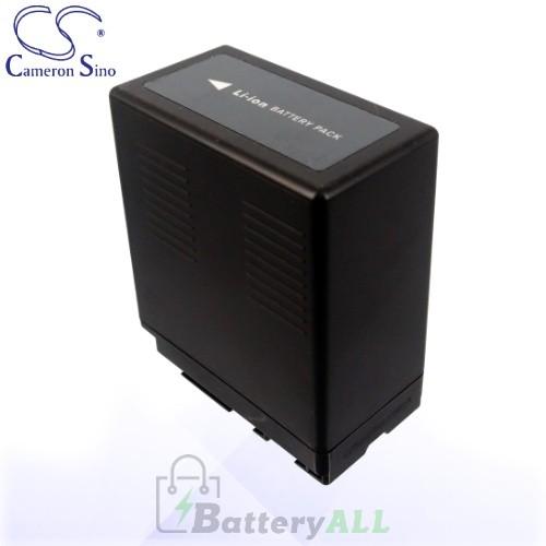 CS Battery for Panasonic AG-AC160A / AG-AC160AEJ / AG-HSC1U Battery 4400mah CA-VBG360