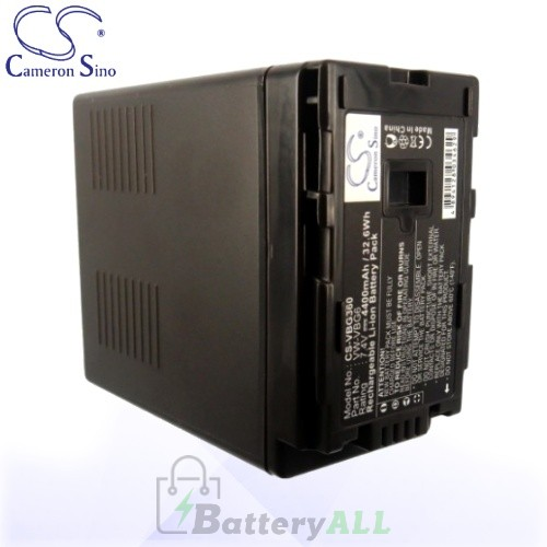 CS Battery for Panasonic AG-HMC40 / AG-HMC70 / AG-HMC150 Battery 4400mah CA-VBG360