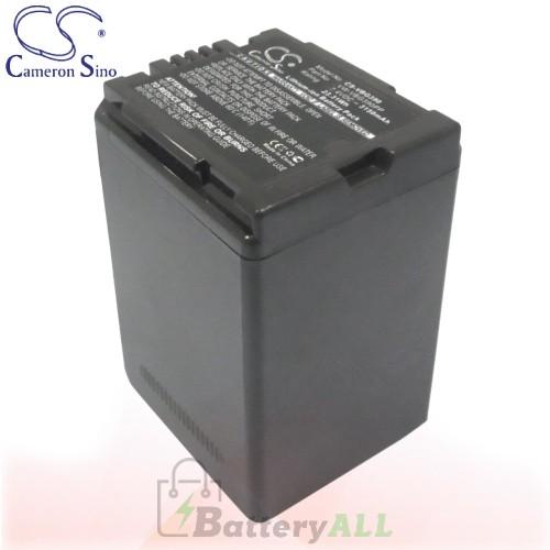 CS Battery for Panasonic HDCSD600K / HDC-SD600K / HDC-SD700 Battery 3150mah CA-VBG390