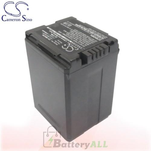CS Battery for Panasonic HDC-SD700K / HDC-SDT750 / SDR-H79 Battery 3150mah CA-VBG390
