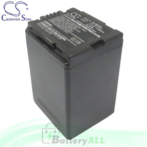 CS Battery for Panasonic HDC-TM700 / HDC-TM700K / PV-GS90 Battery 3150mah CA-VBG390