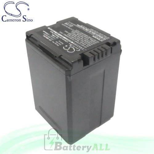 CS Battery for Panasonic HDC-SDT750K / SDR-H79K / SDR-H79P Battery 3150mah CA-VBG390