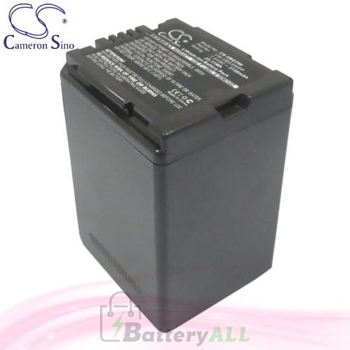CS Battery for Panasonic HDC-HS200K / HDC-HS250 / HDC-HS250K Battery 3150mah CA-VBG390