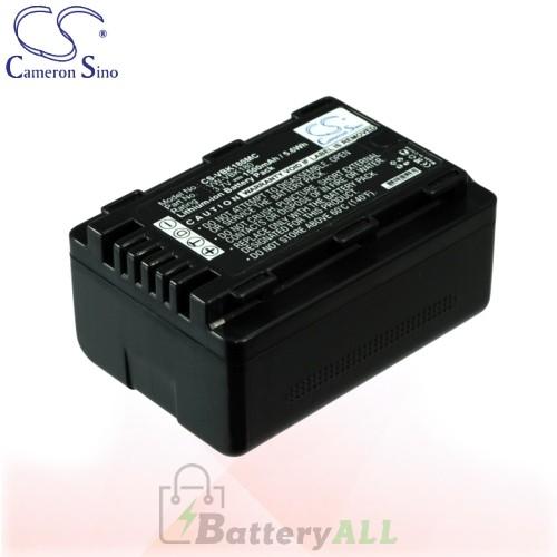 CS Battery for Panasonic HC-V700GK / HC-V700K / HC-V700M Battery 1500mah CA-VBK180MC