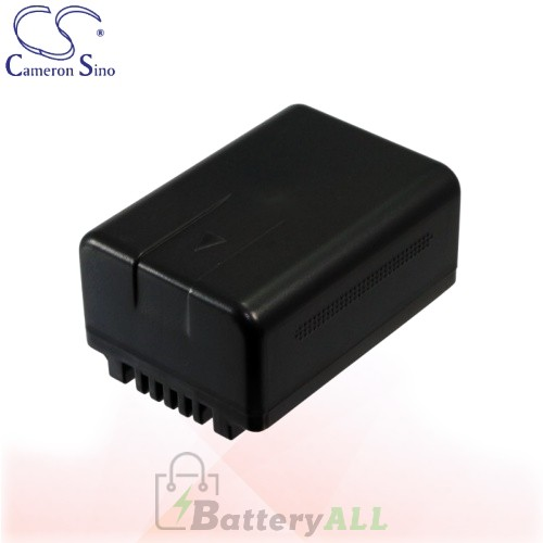 CS Battery for Panasonic HC-V700MGK / HC-V700MK / HC-V707M Battery 1500mah CA-VBK180MC
