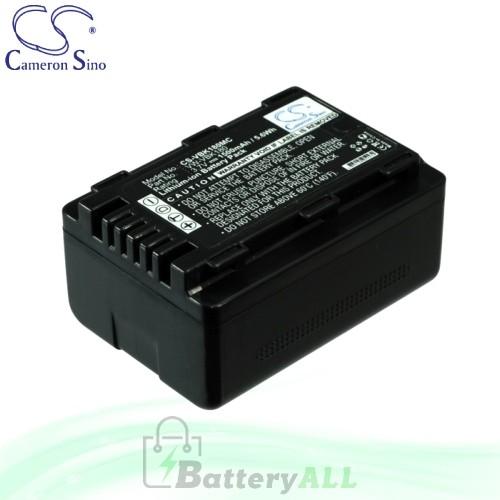 CS Battery for Panasonic HDC-HS80P / HDC-HS80PC / HDC-SD40 Battery 1500mah CA-VBK180MC