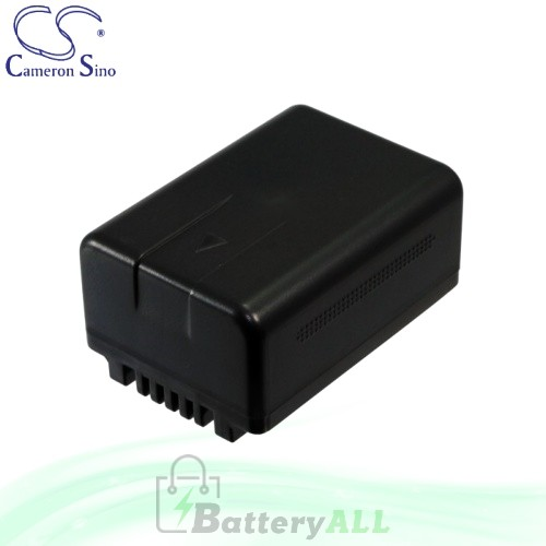 CS Battery for Panasonic HDC-SD40GK / HDC-SD40K / HDC-SD66 Battery 1500mah CA-VBK180MC