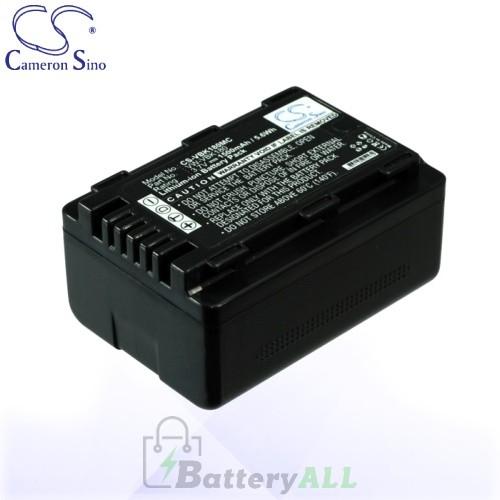 CS Battery for Panasonic VW-VBK180 / HC-V10 / HC-V10EB-K Battery 1500mah CA-VBK180MC
