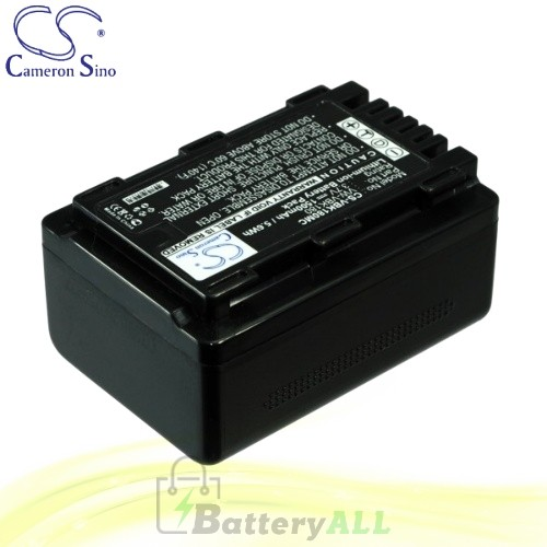 CS Battery for Panasonic HDC-SD90GK-3D / SDR-T70 / HDC-H80 Battery 1500mah CA-VBK180MC
