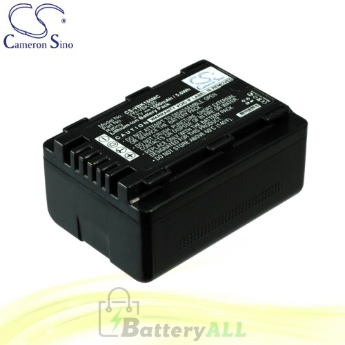 CS Battery for Panasonic HDC-SDX1H / HDC-TM35 / HDC-TM40GK Battery 1500mah CA-VBK180MC