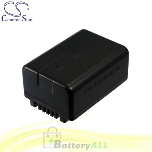 CS Battery for Panasonic HDC-TM40 / HDC-TM40K / HDC-TM40PC Battery 1500mah CA-VBK180MC