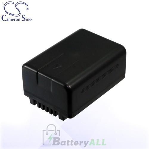 CS Battery for Panasonic HC-V10EB-R / HC-V10GK / HC-V10K Battery 1500mah CA-VBK180MC