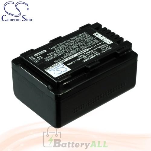 CS Battery for Panasonic HDC-TM55 / HDC-TM55P / HDC-TM55PC Battery 1500mah CA-VBK180MC