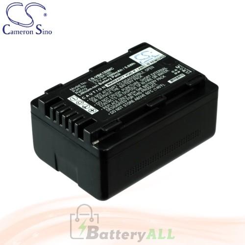 CS Battery for Panasonic HDC-TM60 / HDC-TM60P / HDC-TM60PC Battery 1500mah CA-VBK180MC