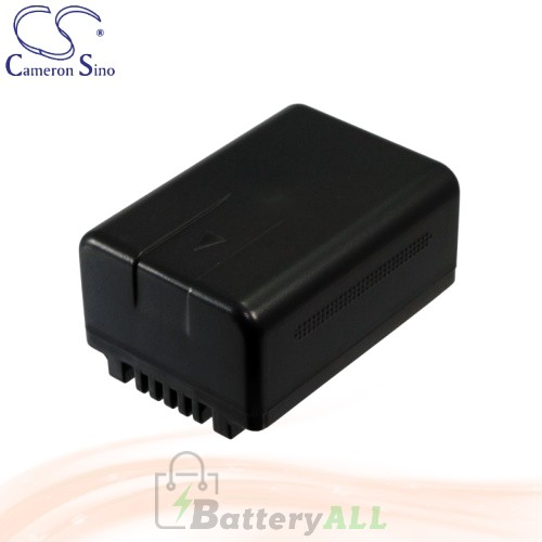 CS Battery for Panasonic HDC-TM70 / HDC-TM80 / HDC-TM80GK Battery 1500mah CA-VBK180MC