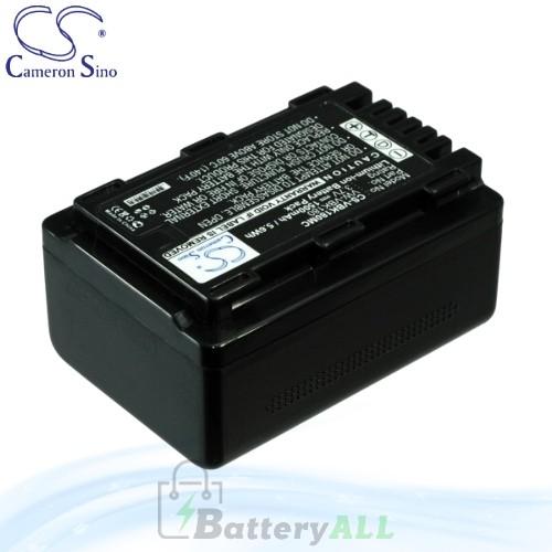 CS Battery for Panasonic HDC-TM90GK-3D / HDC-TM90GK Battery 1500mah CA-VBK180MC