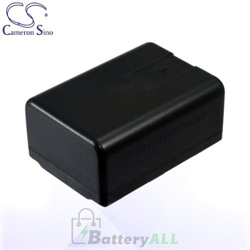 CS Battery for Panasonic HC-V10EG-R / HC-V10EG-K / HC-V10M Battery 1500mah CA-VBK180MC