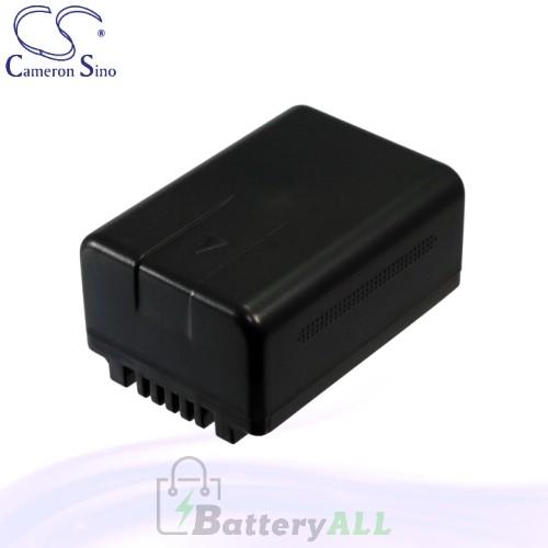 CS Battery for Panasonic SDR-S50K / SDR-S50N / SDR-S50P Battery 1500mah CA-VBK180MC