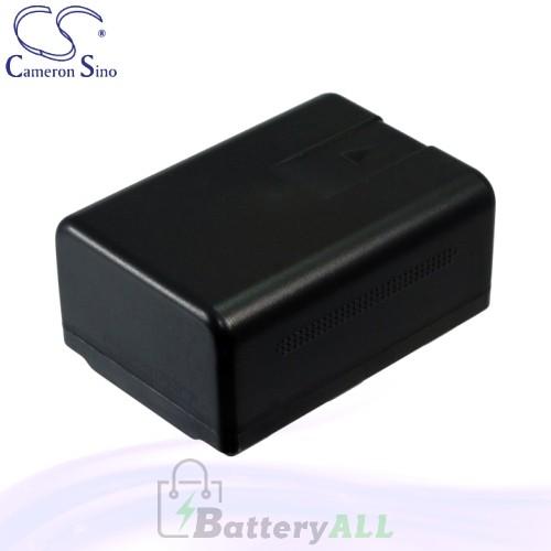 CS Battery for Panasonic SDR-S50PC / SDR-S70 / SDR-S70K Battery 1500mah CA-VBK180MC