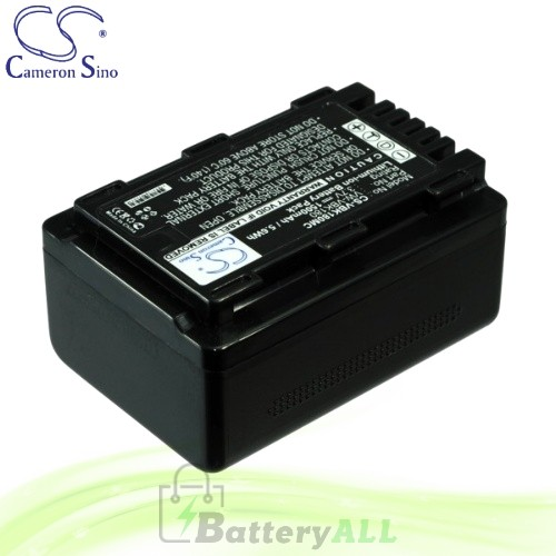 CS Battery for Panasonic SDR-S70S / SDR-S71 / SDR-S71GK Battery 1500mah CA-VBK180MC
