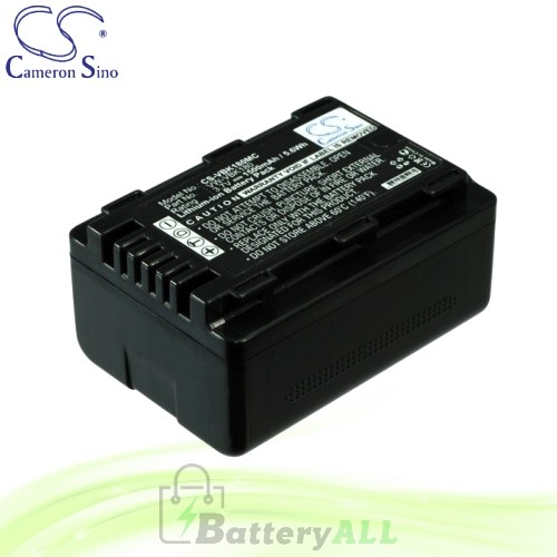 CS Battery for Panasonic SDR-S71P / SDR-S71PC / SDR-T50K Battery 1500mah CA-VBK180MC
