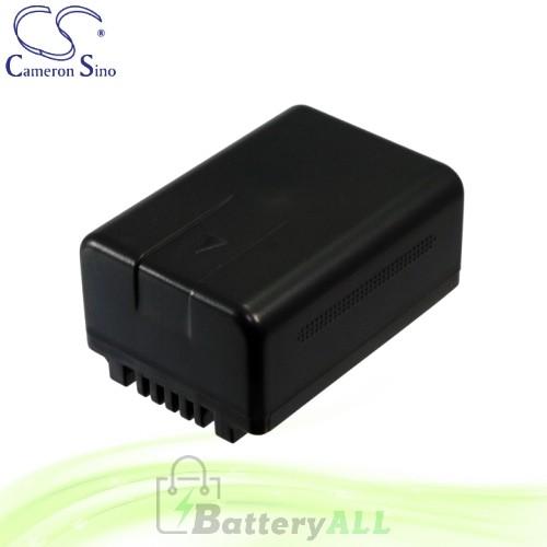 CS Battery for Panasonic SDR-T50 / SDR-T50P / SDR-T50PC Battery 1500mah CA-VBK180MC