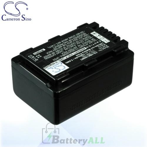 CS Battery for Panasonic SDR-T71 / SDR-T76 / SDR-T95 Battery 1500mah CA-VBK180MC