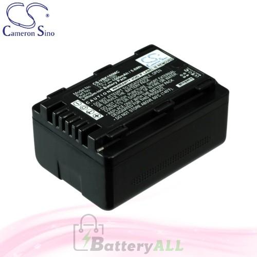 CS Battery for Panasonic HC-V100MK / HC-V500EG-R / HC-V707 Battery 1500mah CA-VBK180MC