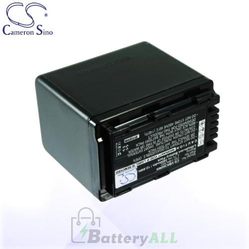 CS Battery for Panasonic HC-V10 / HC-V500 / HC-V500M Battery 3400mah CA-VBK360MX