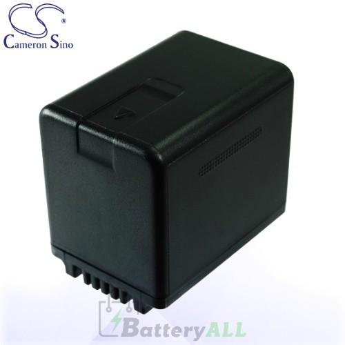 CS Battery for Panasonic HC-V700 / HC-V700M / HDC-HS60K Battery 3400mah CA-VBK360MX
