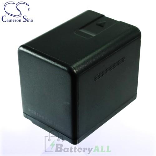 CS Battery for Panasonic HDC-SD40 / HDC-SD60 / HDC-SD60K Battery 3400mah CA-VBK360MX